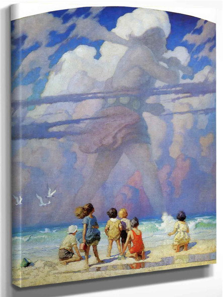 The Giant by Nc Wyeth