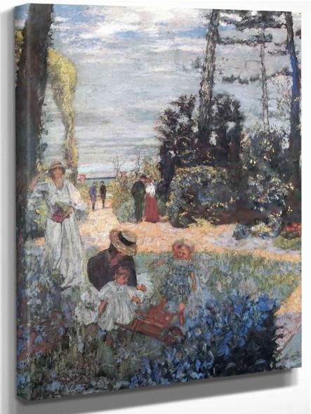The Luncheon At Vasouy by Edouard Vuillard