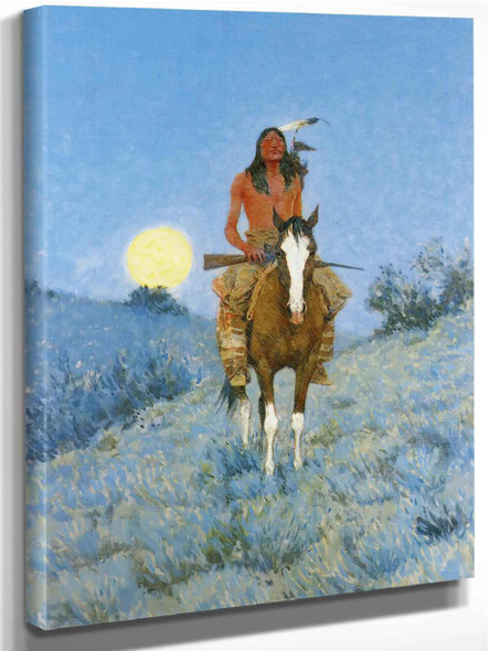 The Outlier Copy by Frederic Remington