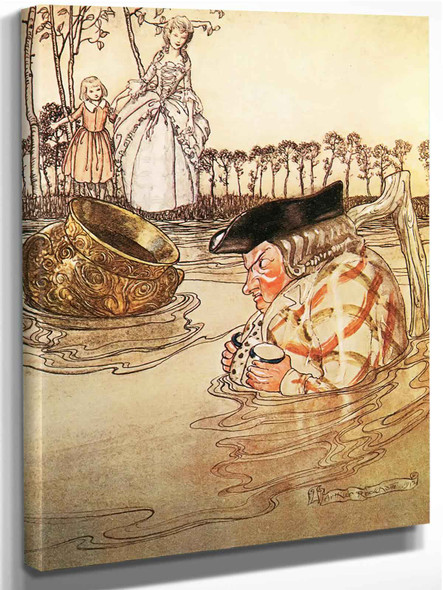 The Two Pots by Arthur Rackham