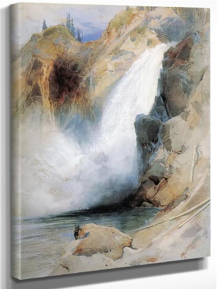 The Upper Falls by Vasili Kadinsky