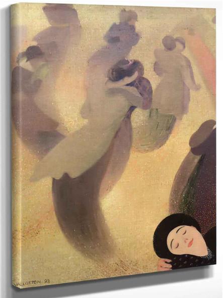 The Waltz by Felix Valletton