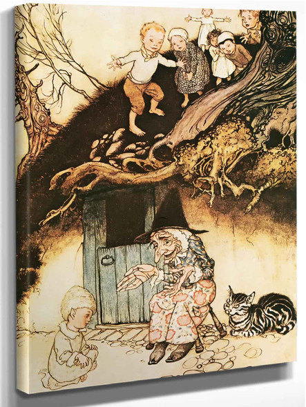 There Was An Old Woman by Arthur Rackham