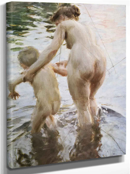 Une Premiere by Anders Zorn