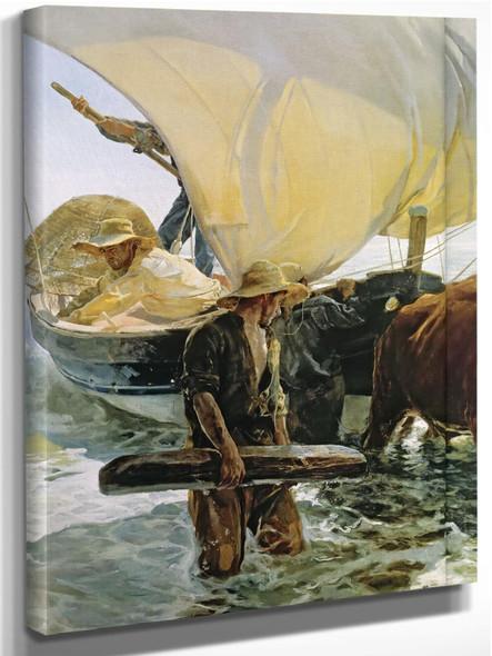 Valencian Fishermen by Joaquin Sorolla