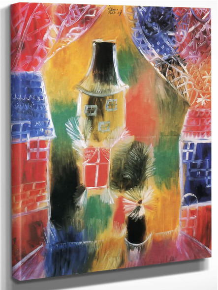 View From A Window by Paul Klee