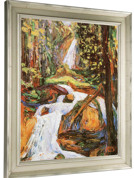 Waterfall 1 by Vasili Kadinsky