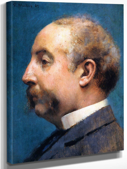 Head Of Thomas Pitts By Gari Melchers