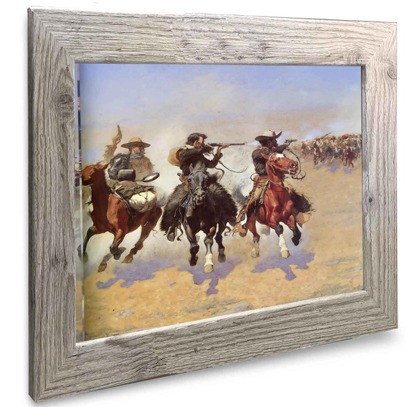 A Dash For The Timber2 Frederic Remington