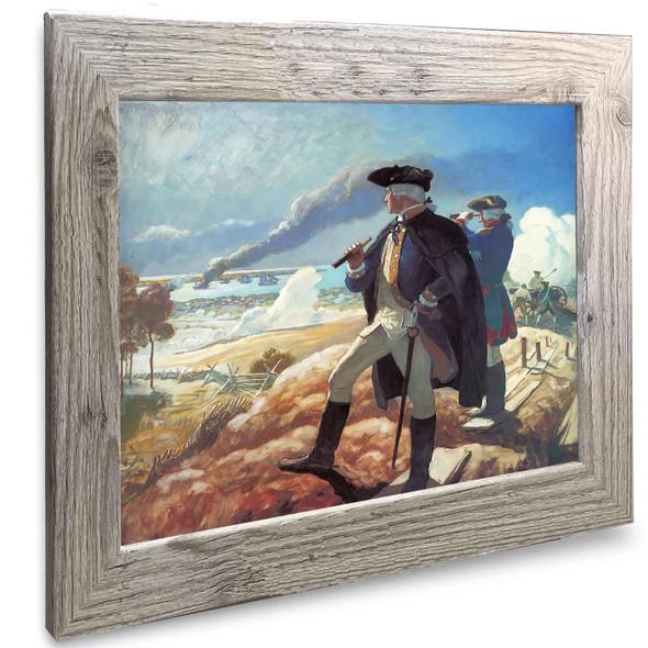 George Washington At Yorktown Nc Wyeth