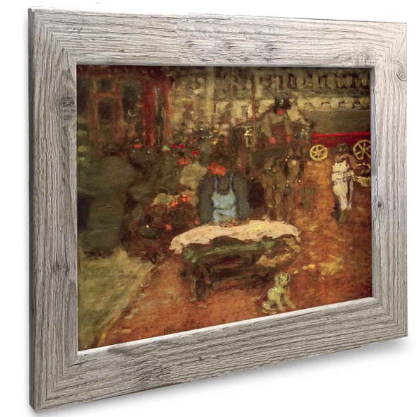 On The Boulevard Pierre Bonnard