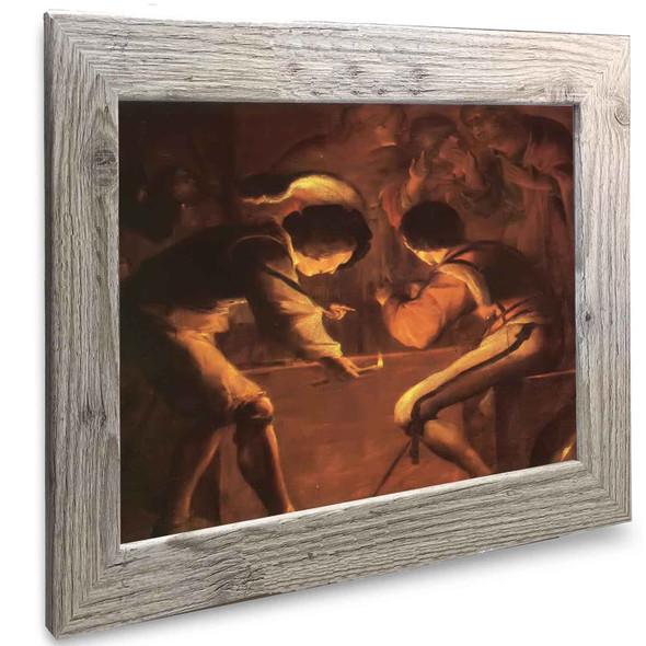 The Denial Of Saint Peter Johannes Vermeer