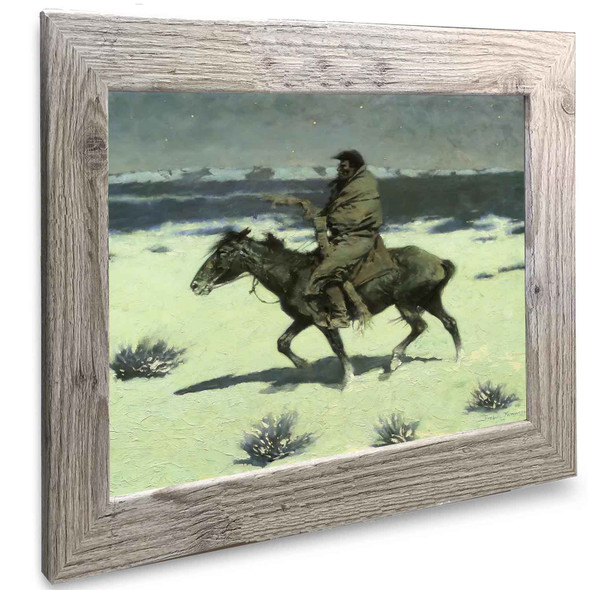 The Luckless Hunter Frederic Remington