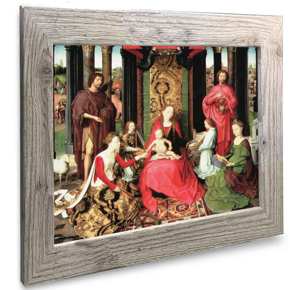 The Mystic Marriage Of Saint Catherine Hans Memling