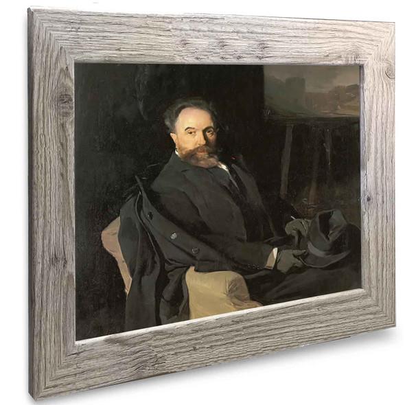 The Painter Aureliano De Beruete Joaquin Sorolla