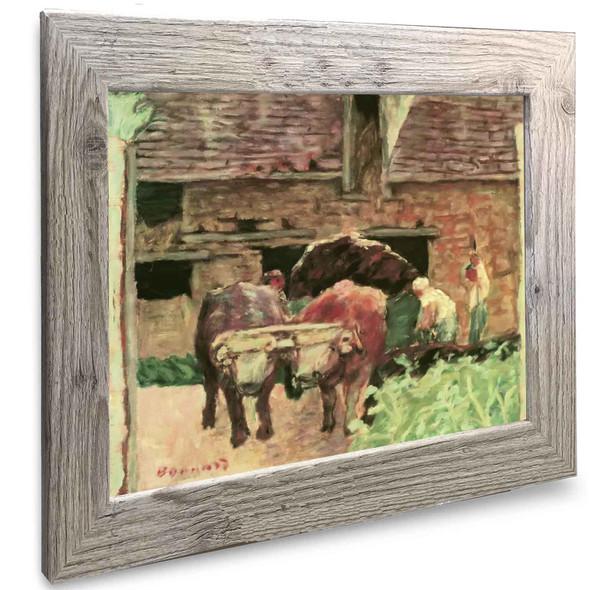 The Two Oxen Pierre Bonnard