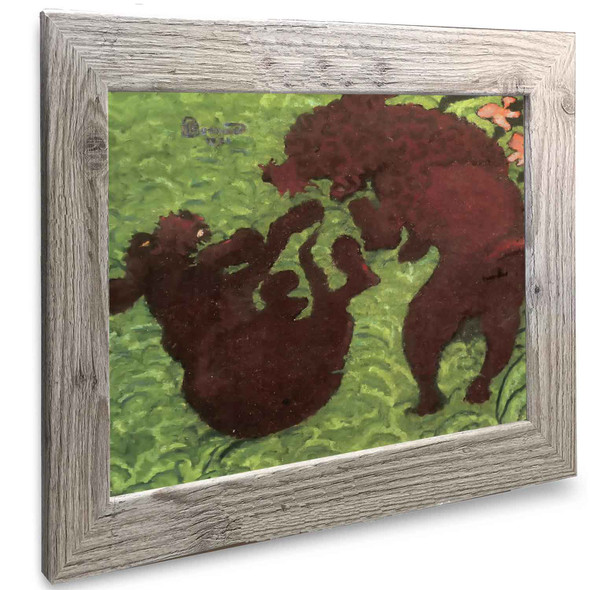 Two Poodles Pierre Bonnard