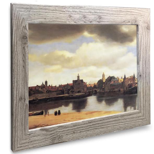 View Of Delft2 Johannes Vermeer
