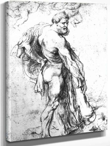 Hercules Crowned By Genii By Peter Paul Rubens