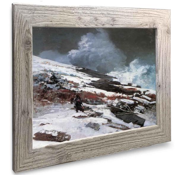 Winter Coast Winslow Homer