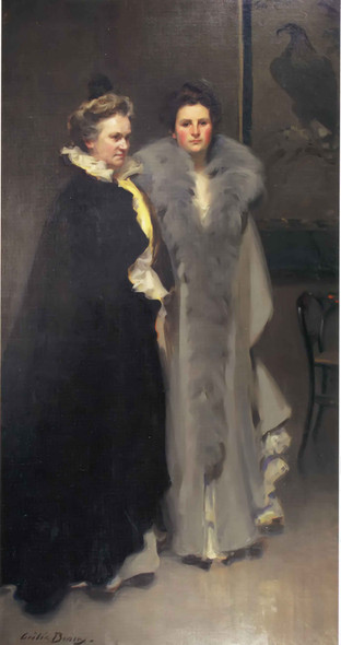 Mother And Daughter Cecelia Beaux