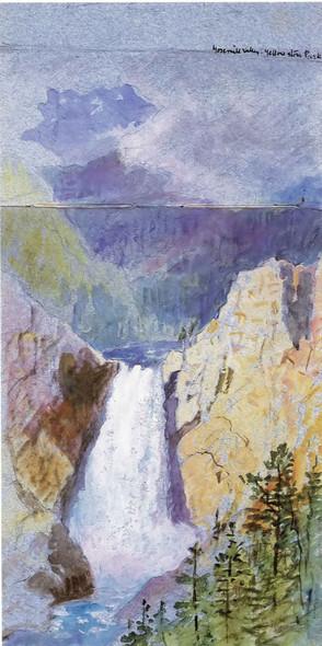 Yosemite Valley Yellowstone Park William Stanley Haseltine