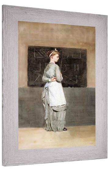 Blackboard Winslow Homer