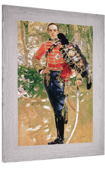 King Alfonso Xiii In Hussars Uniform Joaquin Sorolla