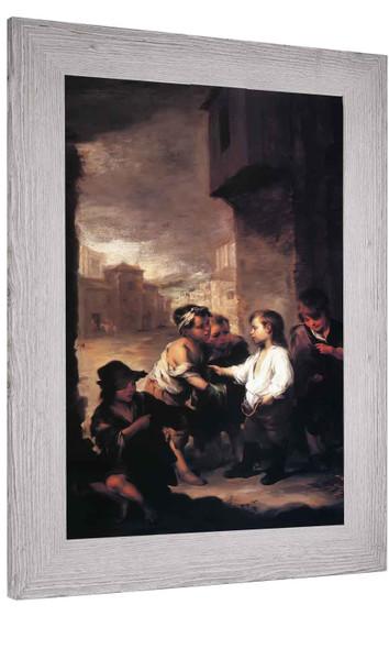 Saint Thomas Of Villanueva As A Child Deviding His Clothes Amonth Beggar Boys Bartolome Esteban Murillo