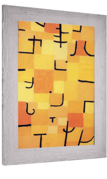 Signs In Yellow Paul Klee