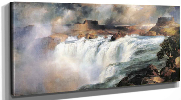 Shoshone Falls On The Snake River Vasili Kadinsky