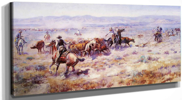 The Roundup No 2 Charles Marion Russell