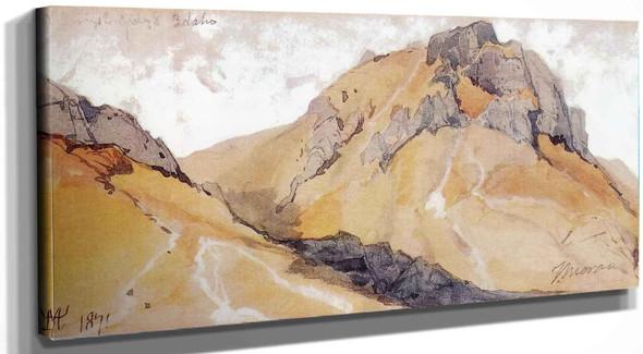 Warm Springs Creek Idaho Thomas Moran