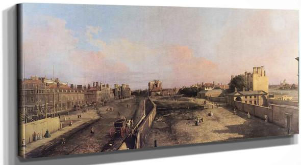 Whitehall And The Privy Garden (1) Canaletto