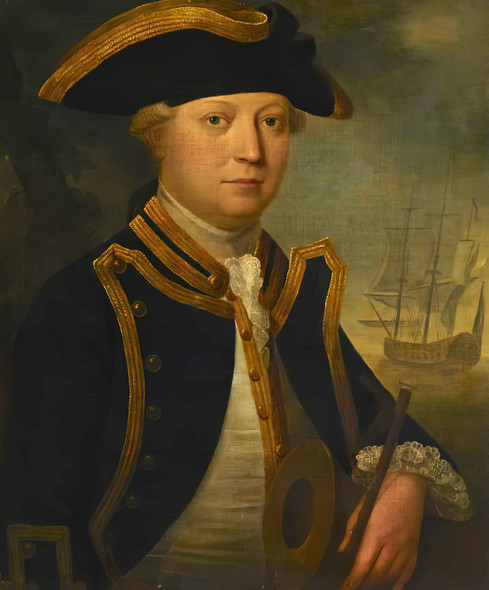 Commander Edward Vernon Yates by John George