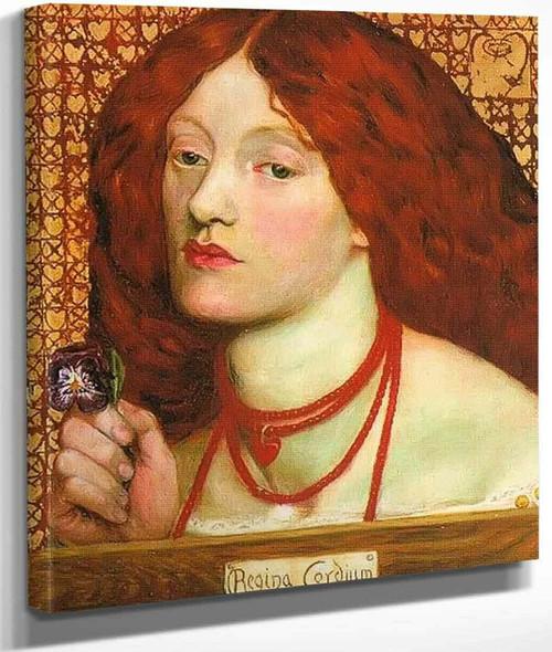 Regina Cordium 1860 By Dante Gabriel Rossetti