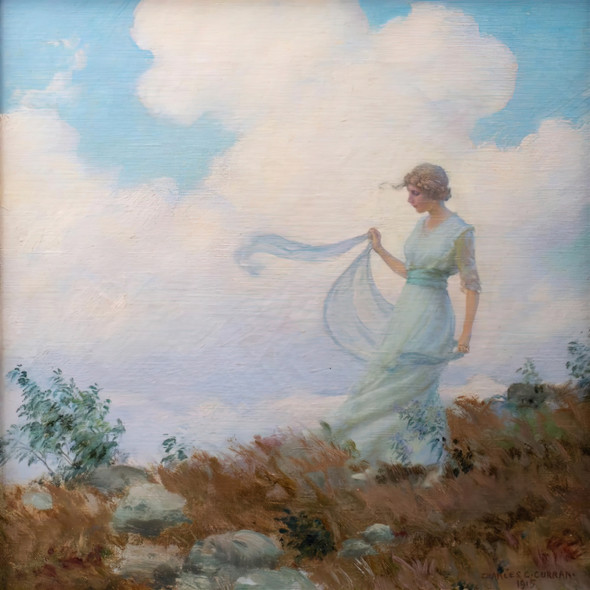 The Hill Top Charles Courtney Curran