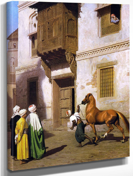 Horse Merchant In Cairo By Jean Leon Gerome