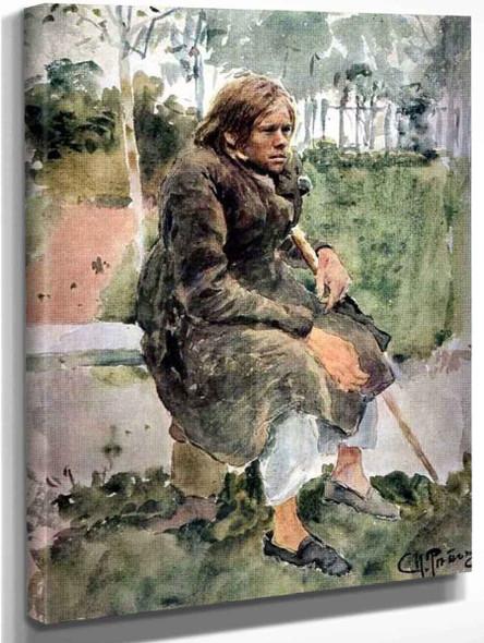 Hunchback  By Ilia Efimovich Repin
