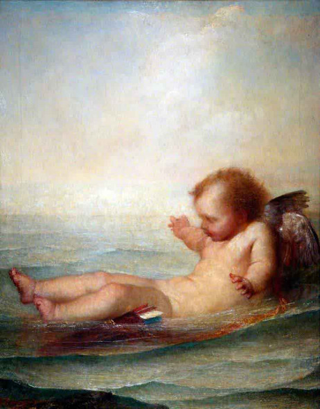 I'm Afloat By George Frederic Watts English 1817 1904