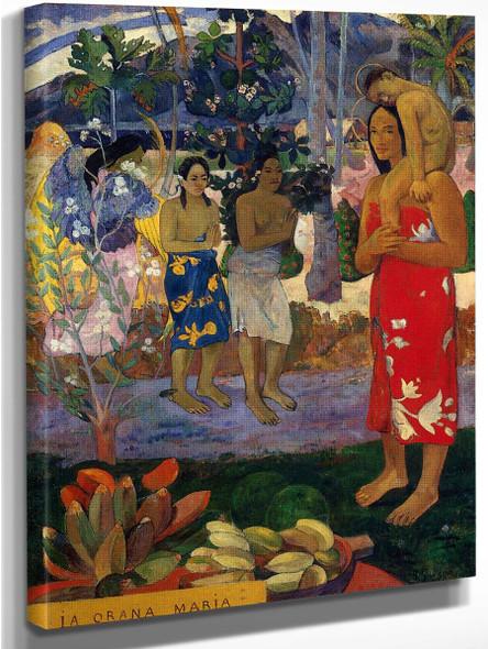 Ia Orana Maria (Also Known As Hail Mary) By Paul Gauguin