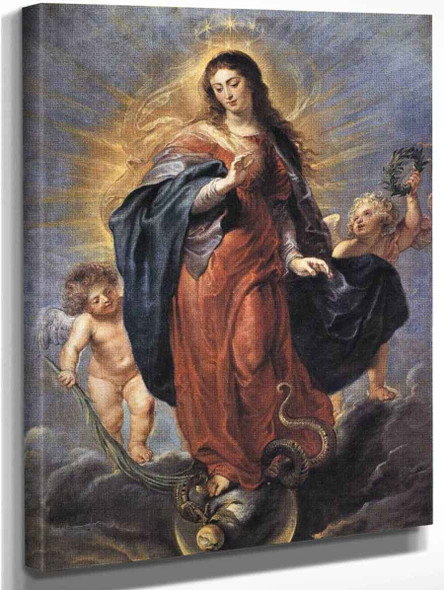 Immaculate Conception By Peter Paul Rubens