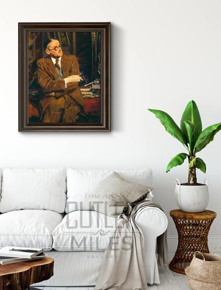 James Joyce By Jacques Emile Blanche By Jacques Emile Blanche