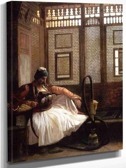 Janissary Smoking By Jean Leon Gerome