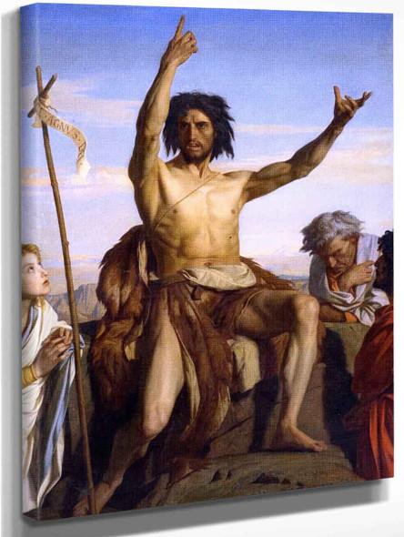 John The Baptist By Alexandre Cabanel