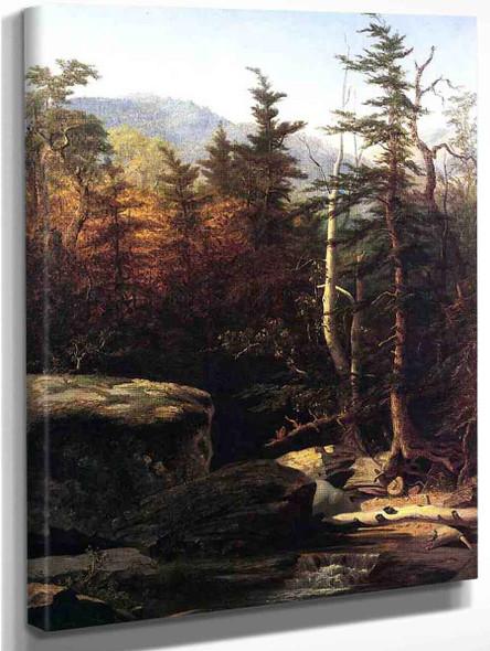 Kauterskill Clove By Sanford Robinson Gifford