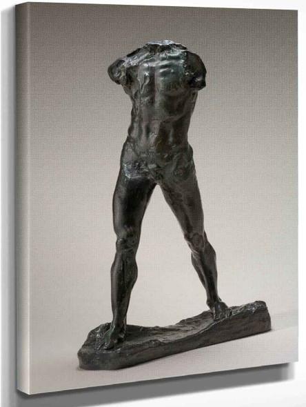 L'homme Qui Marche By Auguste Rodin Art Reproduction