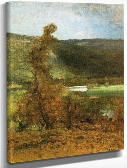 L Vacher By George Inness