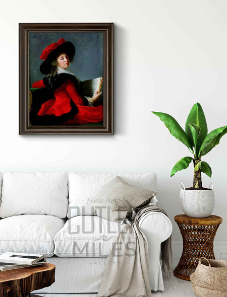 La Baronne De Crussol By Elisabeth Vigee Lebrun