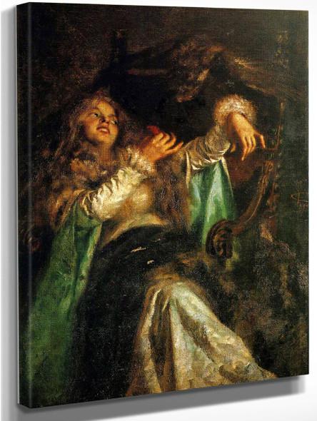 La Falconiera By Giovanni Segantini